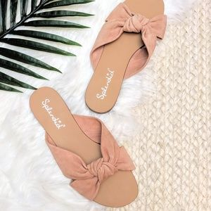 Splendid Brianna Knotted Slide Sandals